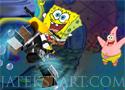 Spongebob Bike 3D versenyezz Spongya Bobbal