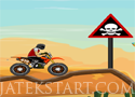 Stunt Maniac motorozz a pályán