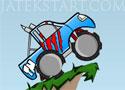 Stunt Truck Launch kocsi reptetős játékok