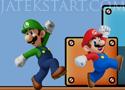Super Mario Game máriós platform játék