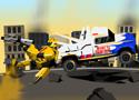 Transformer Buble Bee Rescue Mission mentsd meg Űrdongót