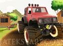 Truck Farm Frenzy terepjárós ügyességi játékok