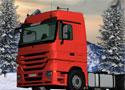 Truck Trial Winter kamionnal száguldós