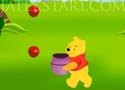 Winnie The Pooh Apples Catching Micimackós almaszedős játék