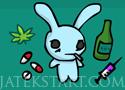 Acid Bunny fuss és ugrálj a nyuszival