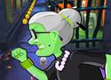 Angry Gran Run Halloween fuss a nagyival