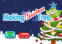 Making christmas tree