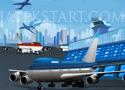 Boeing 747 Parking parkol le a repülővel