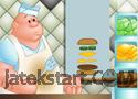 Burger Bulider játék