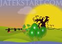 Cursed Balloons zöld lufi pukkasztó