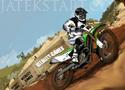 Desert Dirt Motocross motorversenyzős játék