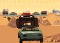 Desert Monster 2 küzd le a sivatag zord körülményeit