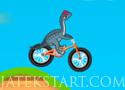 Dinosaur Bike Stunt Játékok