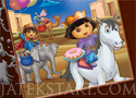 Dora and Diego Online Coloring kifestős játékok