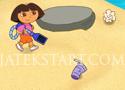 Dora Cleaner szemétszedős játékok nem csak lányoknak