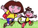 Dora Színezős játékok