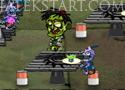 Eat My Foot Zombie szolgáld ki a zombikat az étteremben