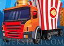 Food Battle Truck harcolj a játékban a hamburgeres autóssal