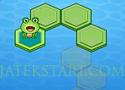 Frog Crossing rajzolj utat a békának