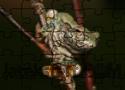 Gray Treefrog Puzzle játék