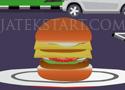 Hamburger at McDrive szolgáld ki