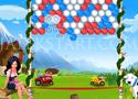 Hans vs Franz Bubble lőj egymás mellé három egyforma buborékot