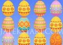 Happy Easter tojás cserélgetős