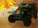 Hell On The Battlefield zúzz autókat az arénában