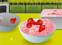 Homemade Strawberry Ice Cream fagyikészítő játékok lányoknak