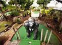 Jungle Golf golyót a lyukba