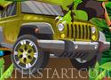 Jurassic Jeep Madness csadp el a dinokat