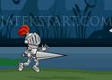 Knight Mighty Run fuss és ugorj a lovaggal