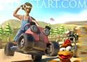 Lawn Mower Madness versenyezz traktorral