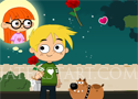 Little Romeo Adventure juss el a fiúval a lányhoz