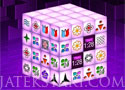 Mahjong Dark Dimensions térbeli mahjong játék