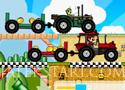 Mario Tractor Drag Race traktoros versenyzős