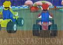 Mario Rain Race verseny quadokkal