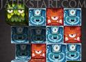 Monster Cube tegyél egymás mellé három azonos kockát