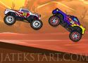 Monster Hill Ride verseny terepjárókkal