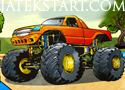 Monster Truck Jam zúzd szét a többi kocsit