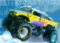 Monster Truck Trip Seasons Winter