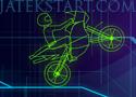 Neon World Biker motoros ügyességi játékok