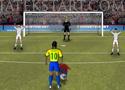 Neymar Football Superstar lőj gólokat a brazil csatárral