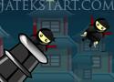 Ninja Cannon Shot reptess nindzsákat