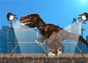 New York Rex zúzz a dinóval
