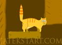 Orange Cat Adventure szedd össze a kaját a cicával