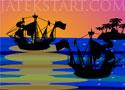 Pirate Attack ágyús védekezős játékok