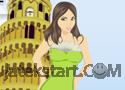 Pisa Girl Dressup játék