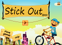 Playing Stick Out BMX Ride
