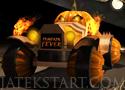 Pumpkin Fever Halloween alkalmára készült autós játék